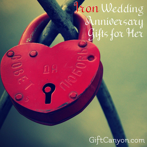 Iron Wedding Anniversary Gifts For Her