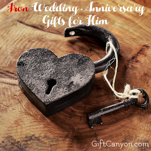Traditional 6th Wedding Anniversary Gifts For Him Iron Gift Canyon
