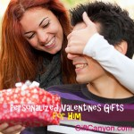 Beautiful Personalized Valentines Day Gifts for Him