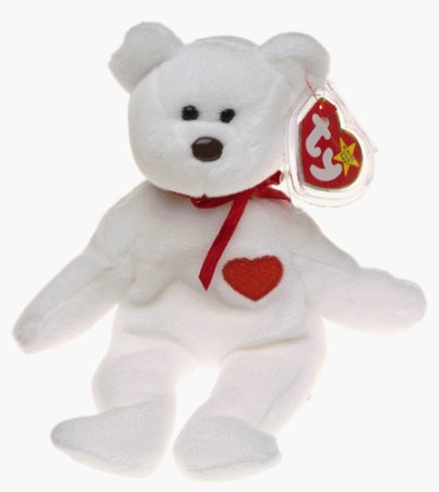 Teddy Beart Heart Plush