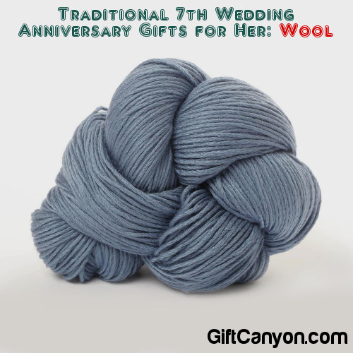 Traditional Wedding Anniversary Gifts for Her - Wool