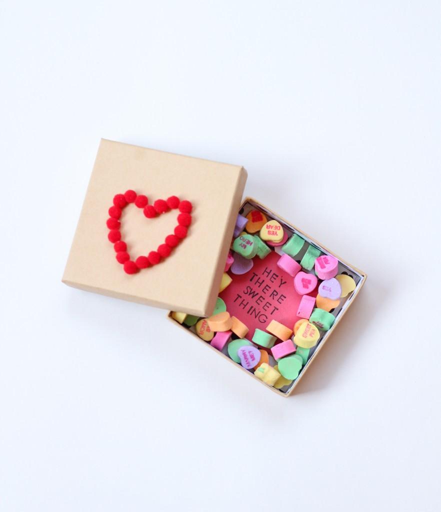 Valentines Candy Box