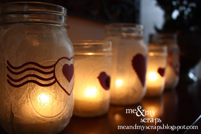 Valentines Luminaries