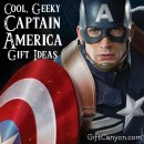 Cool, Geeky Captain America Gift Ideas