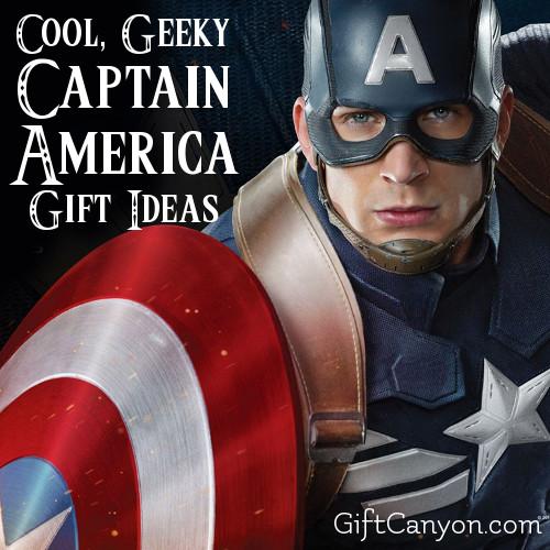Captain America Gift Ideas
