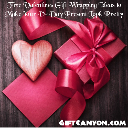 Five Valentines Gift Wrapping Ideas to Make Your V-Day Present Look Pretty