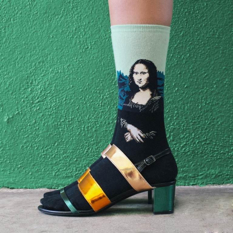 Mona Lisa Socks