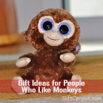 Monkey Themed Gifts for People Who Like Monkeys