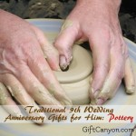 Traditional 9th Wedding Anniversary Gifts for Him: Pottery