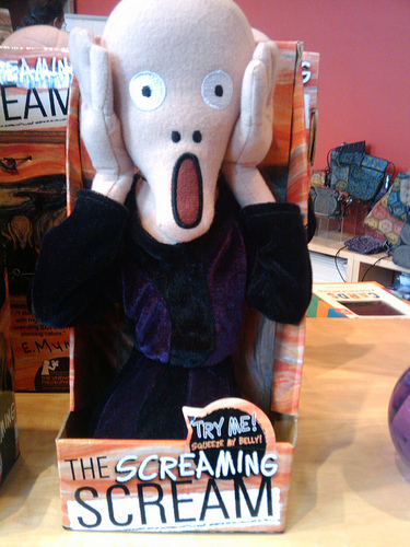 Scream Plush Doll