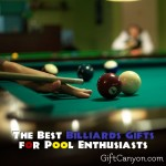 The Best Billiards Gifts for Pool Enthusiasts!