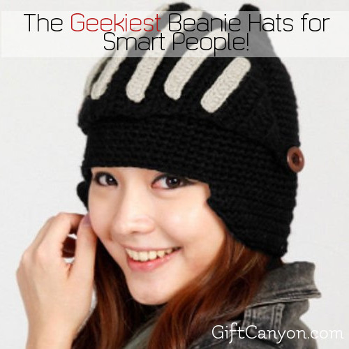 The Coolest, Geekiest Beanie Hats Every Smart Person Should Have