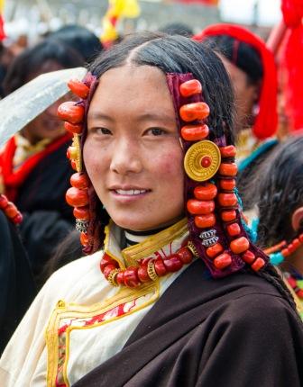 Tibetan Person