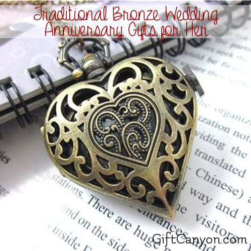 Traditional Bronze Gift Ideas For Her