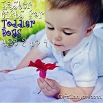 Great Easter Gifts for Toddler Boys (Age 2 to 4)