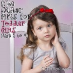 Cute Easter Gifts for Toddler Girls (Age 2 to 4)