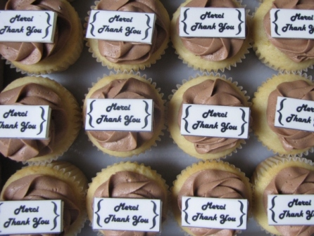 Employee Appreciation Cupcakes