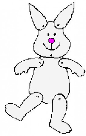 Bunny Puppet Pattern