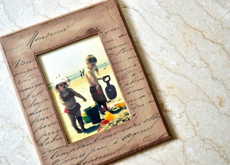 Decoupage-Picture-Frame