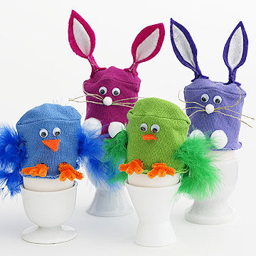 Crafty diy easter gifts kids can make gift canyon egg cozy negle Choice Image