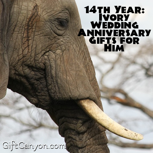 Ivory Wedding Anniversary Gifts for Him