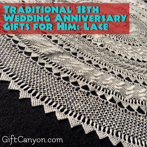 Lace Wedding Anniversary Gifts for Him