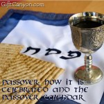 Passover: How it is Celebrated and the Passover Calendar