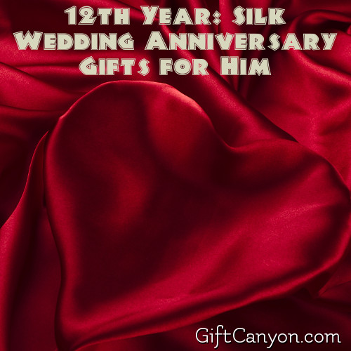 Silk Wedding Anniversary Gifts for Him