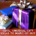 Cool, Unusual Gift Ideas to Make or Buy
