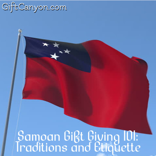 Samoan Gift Giving 101