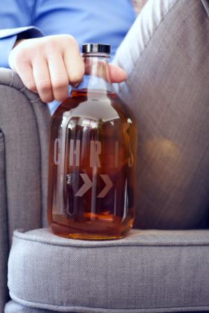 DIY Gifts for Dad - Beer Growler