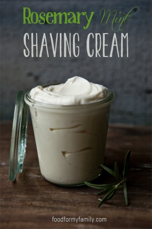 DIY Gifts for Dad - Shaving Cream