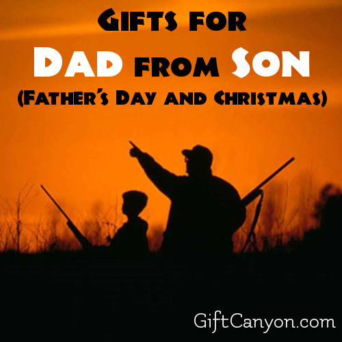 Gifts for Dad from Son (Father's Day and Christmas)