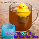 Creative & Cute Tea Infusers for Fun Tea Time