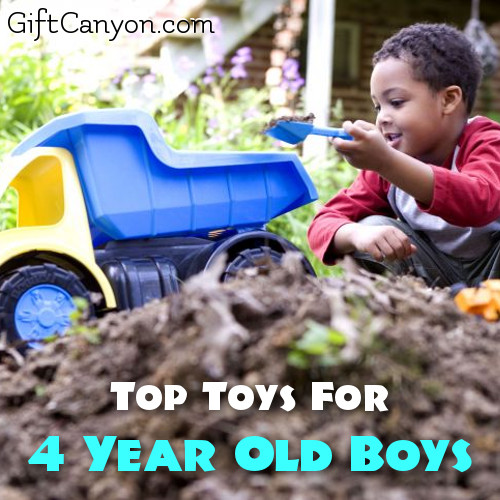 Top Toys For 4 Year Old Boys