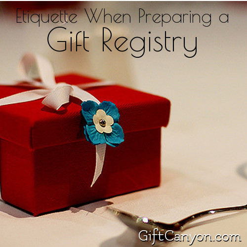 Etiquette For Wedding Gifts When Not Attending : Gift Giving 101 - Gift Canyon