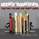 Geeky Bookends that Will Delight Any Book Lover!