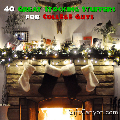 40 Cool Stocking Stuffers For College Guys Gift Canyon