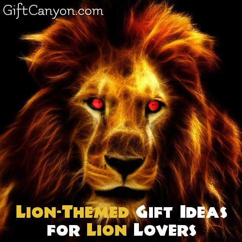 Lion-Themed Gift Ideas for Lion Lovers