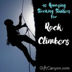 40 Amazing Stocking Stuffers For Rock Climbers