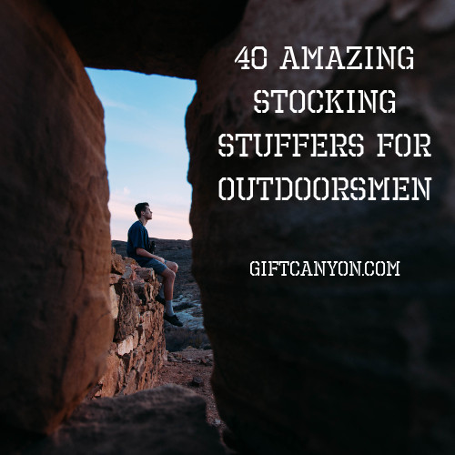 40 amazing stocking stuffers for outdoorsmen gift canyon - Christmas Gifts For Outdoorsmen