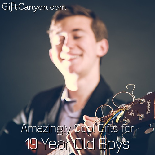 Amazingly Cool Gifts For 19 Year Old Boys Gift Canyon