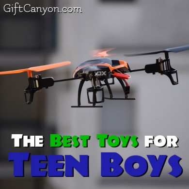 Toys for Big Boys: The Best Toys for Teen Boys