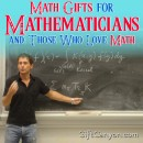 Math Gifts for Mathematicians and Those Who Love Math