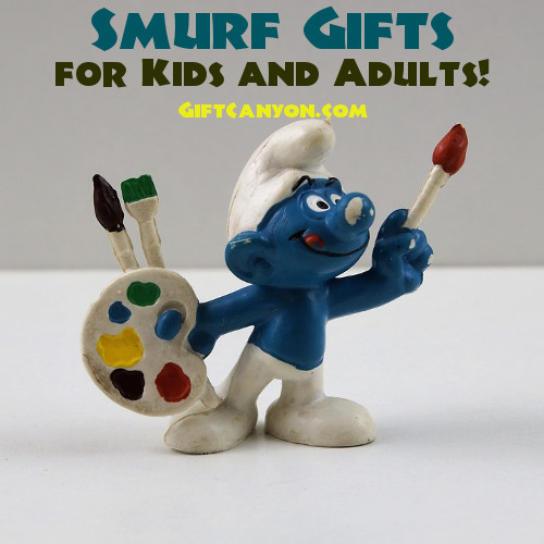 Smurf Gifts for Kids and Adults
