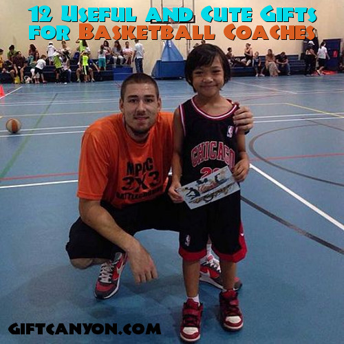 Useful and Cute Gifts for Basketball Coaches