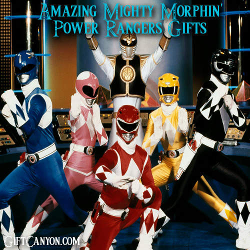 Amazing Mighty Morphin Power Rangers Gifts
