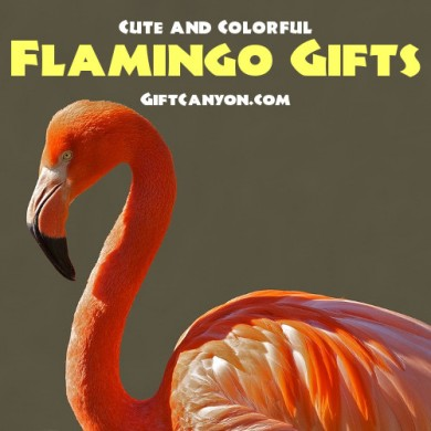 Cute and Colorful Flamingo Gifts for Lovers of these Birds