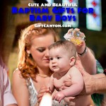 Cute and Beautiful Baptism Gifts for Baby Boys