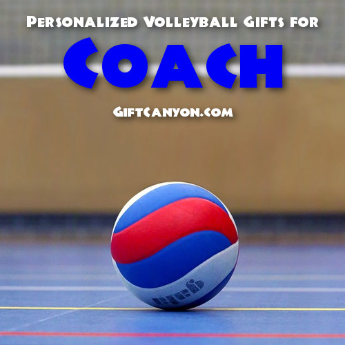 Personalized Volleyball Gifts for Coach